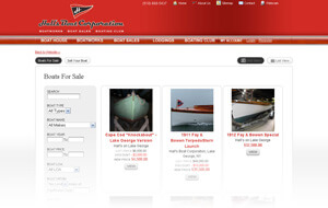 Hall's Boat Marina Web Design, Development Case Studies