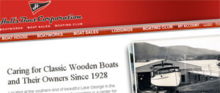 Hall's Boat, Web Development Case Studies