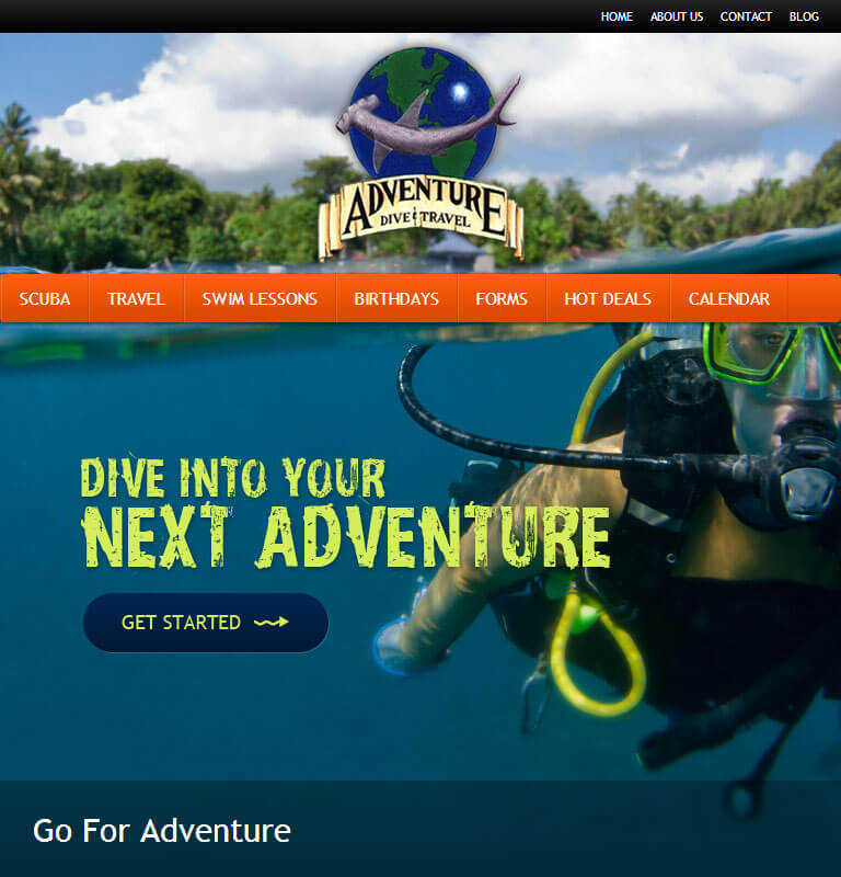 Go for Adventure - iPad