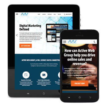 Active Web Group Responsive Site