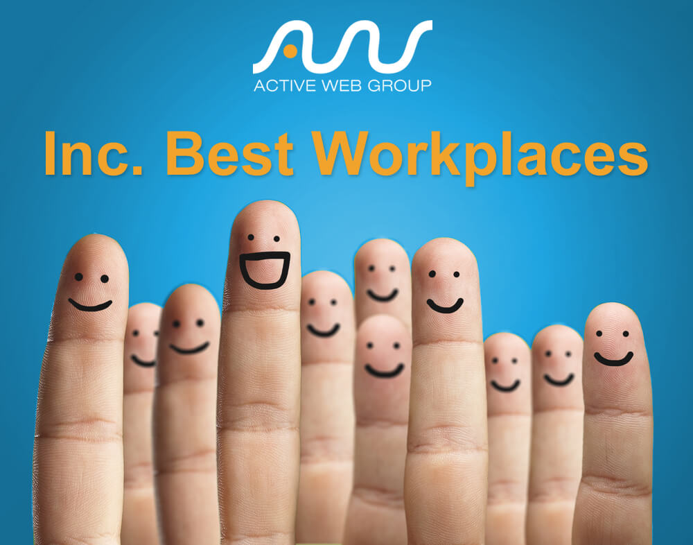 Active Web Group is One of Inc. Magazine's Best Workplaces 2017