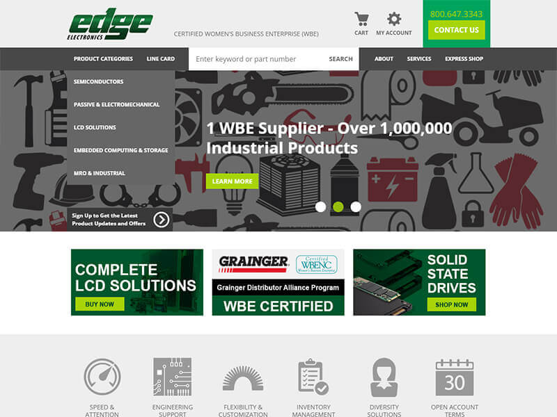 Edge Electronics - Desktop